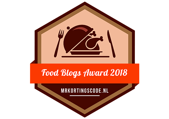 Banners voor Food Blogs Award 2018